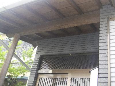 木部外壁塗装前3