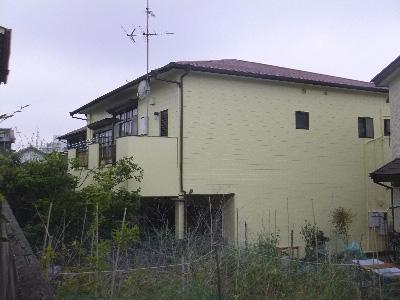 外壁塗装後3